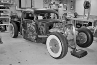 1940 Ford BOBBER PICKUP Old School Hotrod