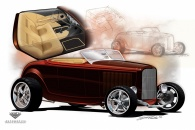 Automotive Concepts & illustration