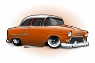 55 Chevy 'TOON'