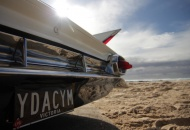 "Photo by Jen Persons Executive Producer ""Tail FIns and Chrome"" Back Drop is Currumbin Beach Gold Coast"