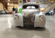 Alumicraft grill, 1939 Ford headlights