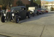 Headed to the show.