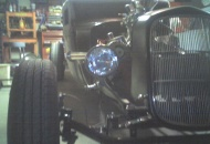 Lookin good for a reworked 32 Ford