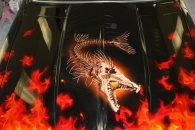 art work by Raycustompaint&bodyworks