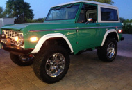 Custom Built Bronco with electric steps, boss 302 motor, fuel injection, custom made console, custom interior, perfected body! All new from bumper to bumper
